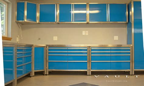 Powder Coating Kitchen Cabinets Customize Your Garage Cabinets Choose A Powder Coating To Match Your Space Vehicles Or