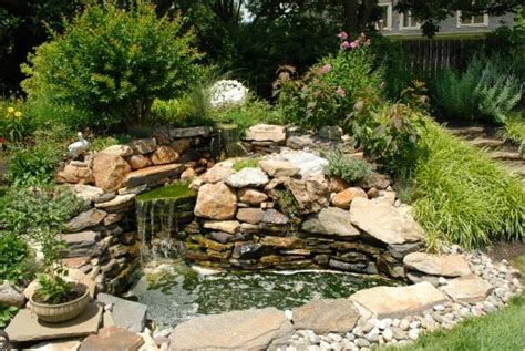 rustic pond home and garden design idea s outdoor