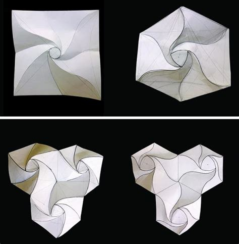 Paper Folding Models - paper folding techniques architecture www imgkid