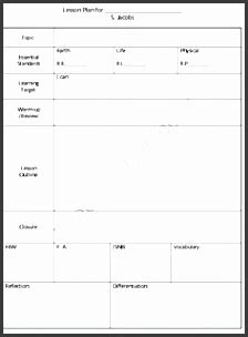 8 Daily Lesson Plan Template Sletemplatess Sletemplatess Stem Lesson Plan Template