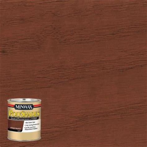 minwax 8 oz polyshades antique walnut satin stain and