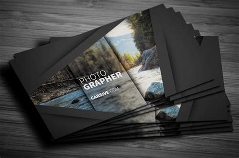 Cool Business Card Templates Photoshop by Photography Business Cards Psd Free