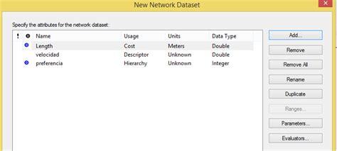 arcgis tutorial network dataset arcgis network dataset 11 cursos gis tyc gis formaci 243 n