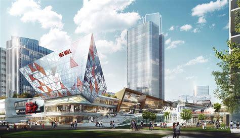 shenzhen metro changzhen depot tod master plan  woods