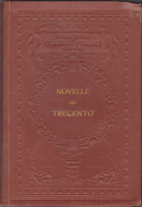 utet sede novelle trecento collezione di classici italiani