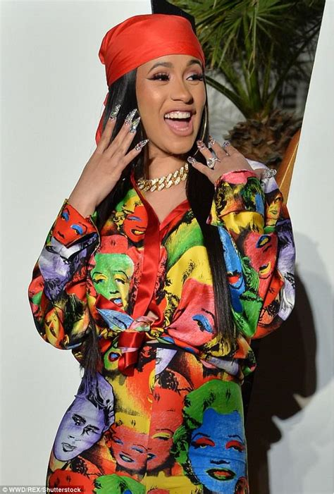 Jempsuit Cardi cardi b wears jumpsuit at moschino bash at coachella