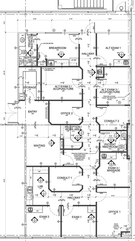 medical office floor plan sles medical office design plans advice for medical office