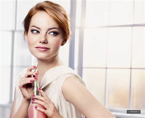 emma stone revlon 2012 revlon spring summer collection shoots emma stone