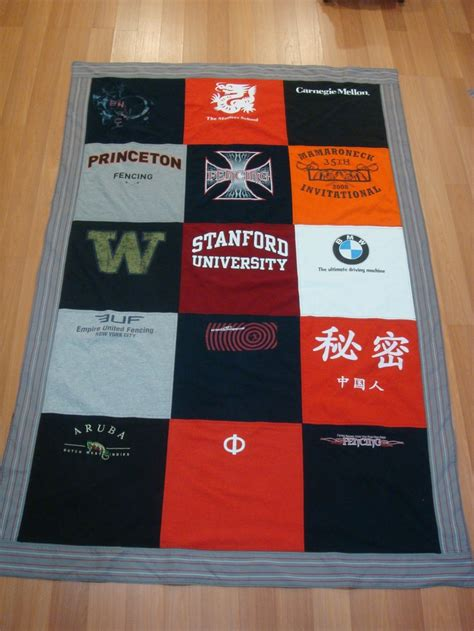 how to recycle t shirts to make a memory quilt