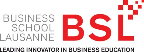 Business School Of Lausanne Mba by File Bsl Logo With Text Png Wikimedia Commons