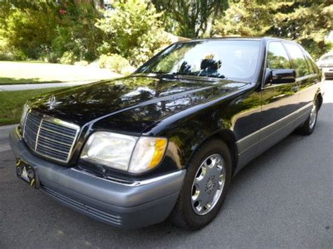 how make cars 1995 mercedes benz s class head up display sell used 1995 mercedes benz s500 only 129k original miles 2 owners in altadena california