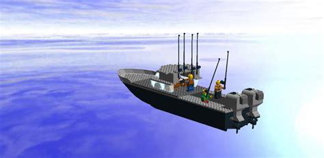 lego boat with engine lego ideas sport fishing boat