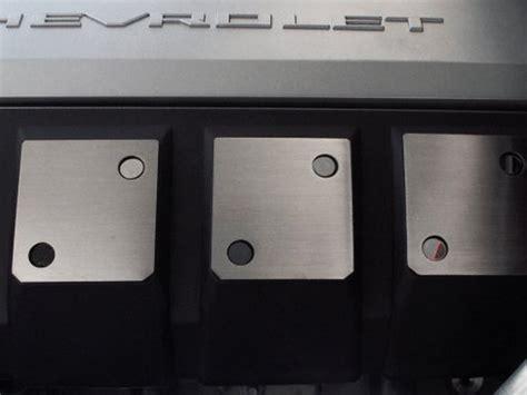 chevrolet camaro ss stainless engine shroud side trim