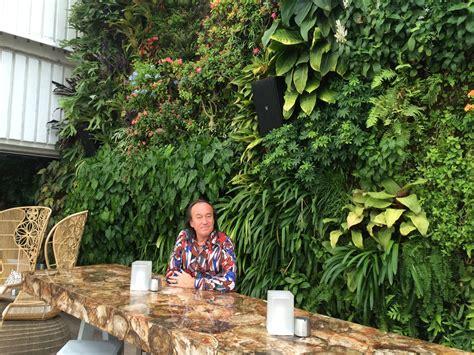 Miami Vertical Garden Juvia Restaurant Miami Vertical Garden Blanc