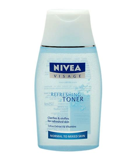 Nivea Cleaning Lotion And Toner Review And Demo nivea cleansing refreshing toner 125ml buy nivea
