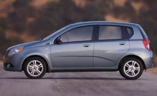 2009 Chevrolet Aveo Car And Driver