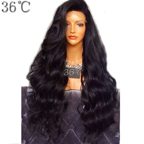 remy hair extensions for black women 250 density natural wave lace front human hair wigs for