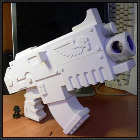 40k Papercraft - warhammer 40k 13 costumes and weapons for free
