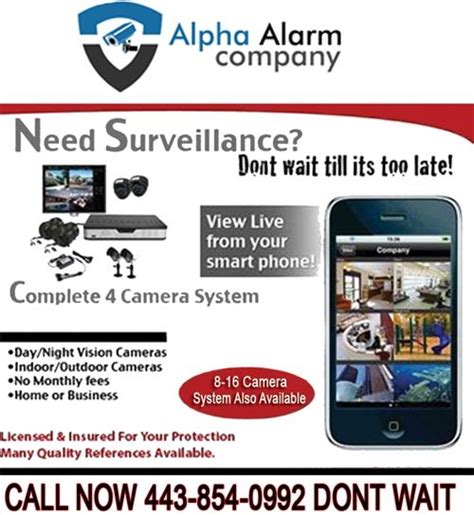 alpha security cameras baltimore md 21224 angies list