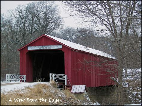 Covered Bridge A View From The Edge Sunday Bridges Covered Bridge