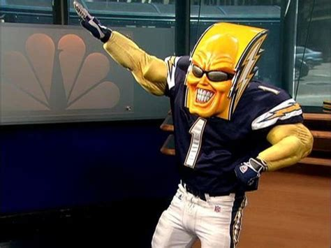 chargers mascot the boltman could be yours for 75 000 nbc 7 san diego