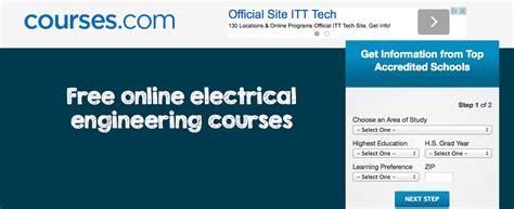 online tutorial electrical engineering 50 top resources to learn electrical engineering online