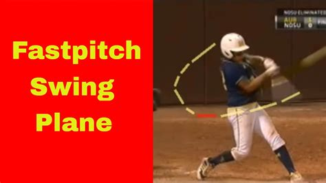 softball batting swing fastpitch softball hitting fastpitch swing plane
