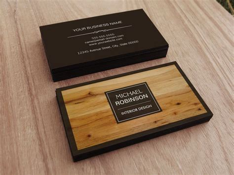Carpenter Business Card Templates