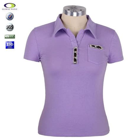 jersey design plain uniform polo shirts for women women s office uniform