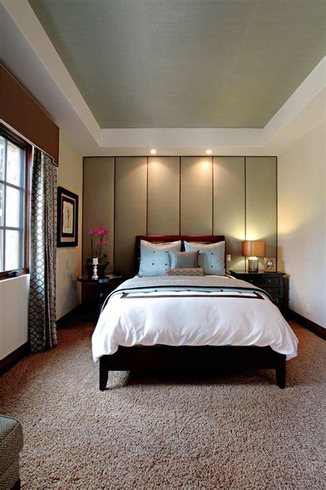 卧室软包背景墙装潢设计 土巴兔装修效果图