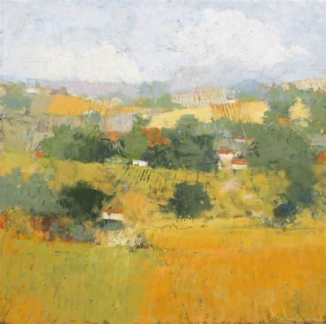 Landscape Paintings European Paul Balmer European Countryside At 1stdibs