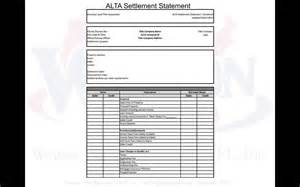 Settlement Statement Template by Settlement Statement Template Sle Bank Statement 12