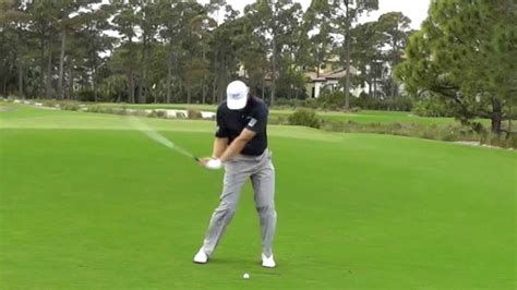 ernie els swing sequence ernie els slow motion swing sequence youtube