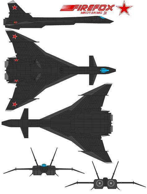Buy Blueprints Firefox Mig 31 By Bagera3005 On Deviantart