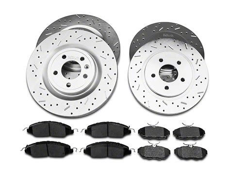 ceramic rotors for mustang review xtreme stop precision cross drilled slotted mustang