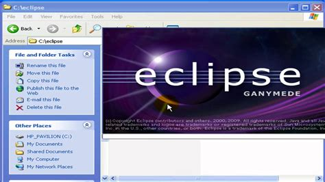 and install eclipse for java and install eclipse for java