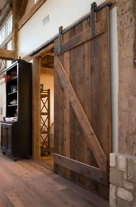 10 modern barn door ideas that make a bold statement ideas of how to introduce barn doors in a modern home