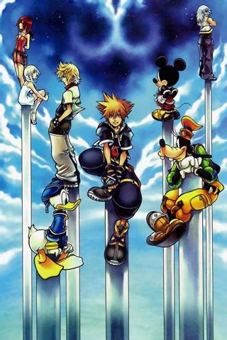 wallpaper iphone kingdom hearts kingdom hearts 2 iphone wallpaper free iphone 4