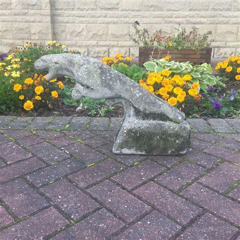 antique jaguar antiques atlas jaguar leaping cat concrete statue