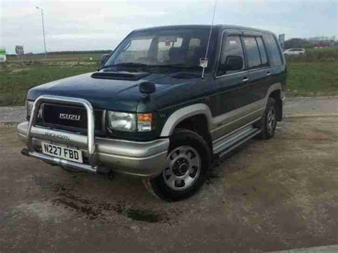 how petrol cars work 2001 isuzu trooper on board diagnostic system isuzu trooper bighorn 3 2 v6 petrol with fully working lpg car for sale