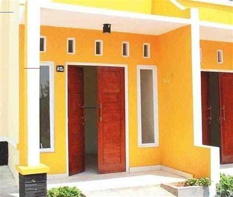 bagian luar warna cat dinding luar rumah  cerah
