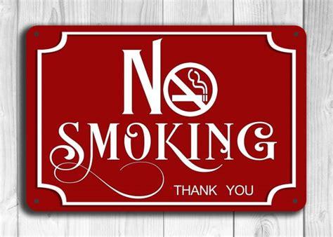 no smoking sign up red no smoking sign classic metal signs