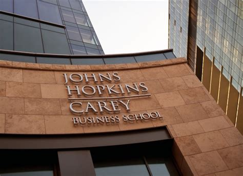 Carey School Of Business Mba Ranking by Johns Carey Gains Aacsb Cred
