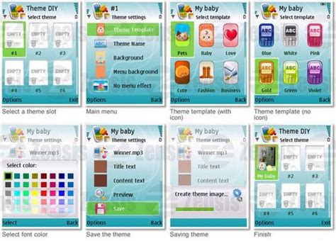 themes builder for symbian new diy theme creator for nokia symbian 3rd symbian 5rd