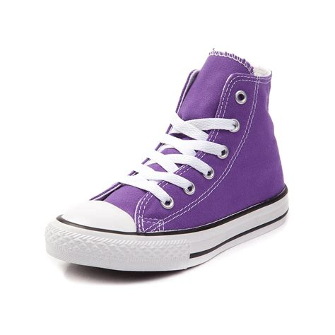 lavender sneakers youth converse chuck all hi sneaker purple