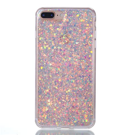 Softcase Anticrack Iphone 6g 6s Soft Casing Cover Clear for iphone 6s 7 plus soft bling rubber slim tpu clear bumper silicone cover ebay