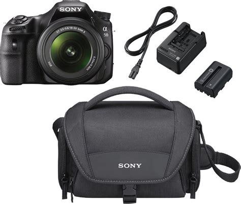 Kamera Sony Slt A58k sony alpha slt a58k spiegelreflex kamera sal 18 55 objektiv 2 akku ladeger 228 t tasche