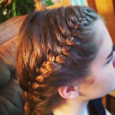 volleyball hairstyles braids volleyball hairstyle ideas melanie s quinceanera
