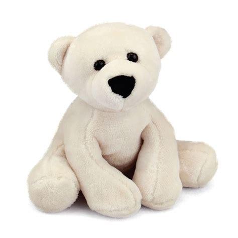 comfies polar bear stuffed animal by fiesta at stuffed safari