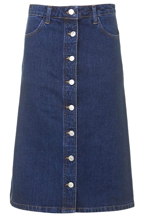 shop the mag denim skirts to take you from day to